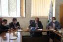 جلسه مسئولین شهرداری با دکتر بامیری نماینده محترم مردم شهرستانهای لردگان و خانمیرزا در مجلس شورای اسلامی
